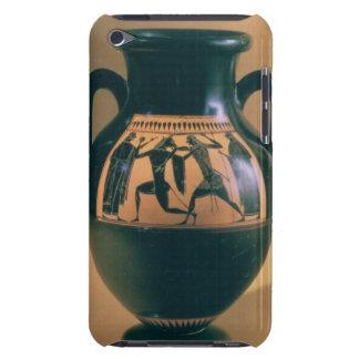 Figura preta amphora do sótão que descreve Theseus Capas iPod Case-Mate