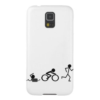 Figuras da vara do Triathlon Capa Para Galaxy S5
