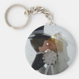 Figuras do casamento chaveiro