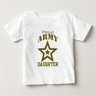 Filha orgulhosa do exército t-shirt