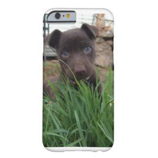 Filhote de cachorro bonito Ariel Capa Barely There Para iPhone 6
