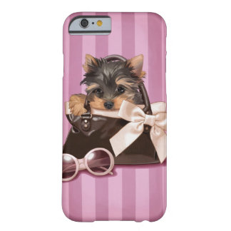 Filhote de cachorro do yorkshire terrier capa barely there para iPhone 6