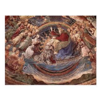 Filippo Lippi: Coroação do Virgin Cartão Postal
