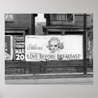 Filme Quadro de avisos, 1936 Poster