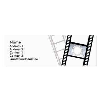 Filmstrip - magro modelos cartão de visita