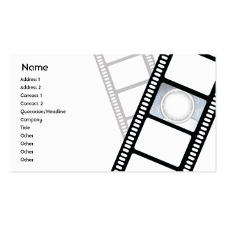 Filmstrip - negócio modelos cartoes de visita
