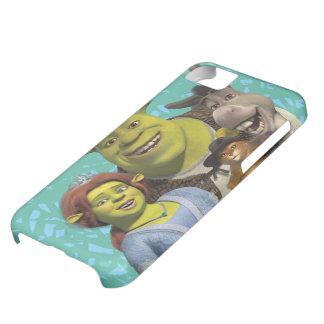 Fiona, Shrek, Puss nas botas, e asno Capa Para iPhone 5C