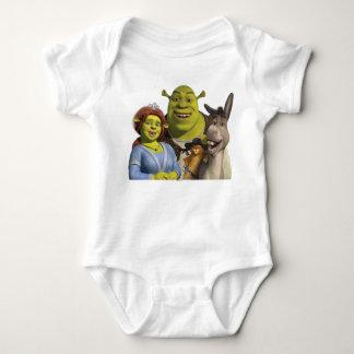 Fiona, Shrek, Puss nas botas, e asno Tshirts