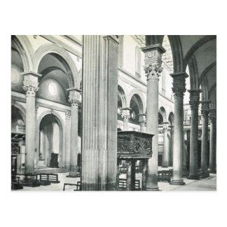 Firenze, Florença, S. interno Lorenzo Cartão Postal
