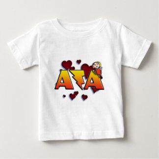 first name Ava with flasheas v Camiseta