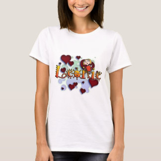 first name Leoni for alpargatas and other products Tshirts