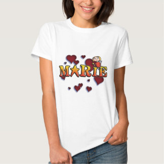 first name Marie shirts and products Tshirts