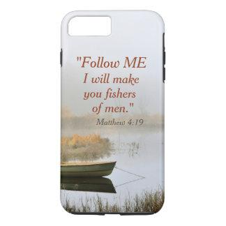 Fishers do verso da bíblia do 4:19 de Matthew dos Capa iPhone 7 Plus