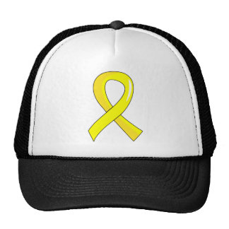 Fita amarela 3 da hidrocefalia boné