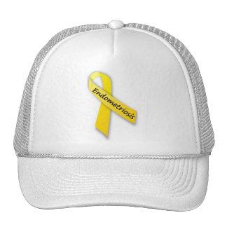 Fita amarela para a endometriose boné