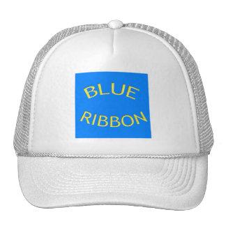Fita azul boné