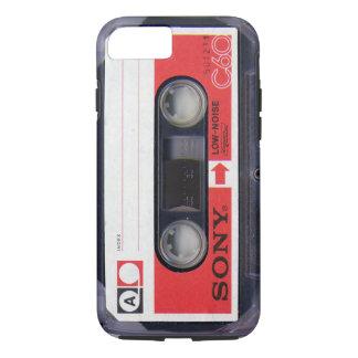Fita C-60 da cassete áudio de Sony Capa iPhone 8/7