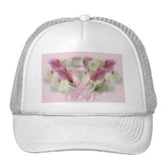 Fita da consciência da esperança do cancro da mama boné