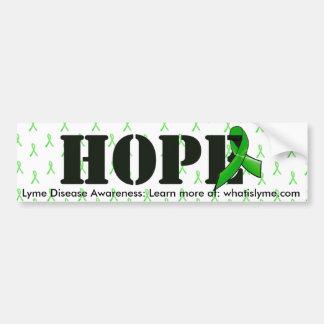 Fita da consciência da esperança e da doença de adesivo para carro