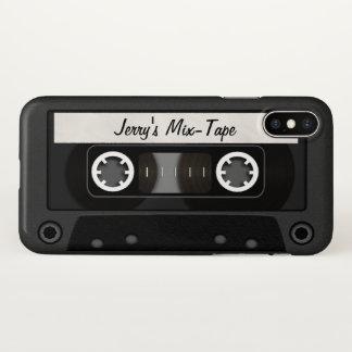 Fita da mistura personalizada capa para iPhone x
