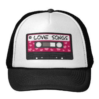 Fita das canções de amor boné