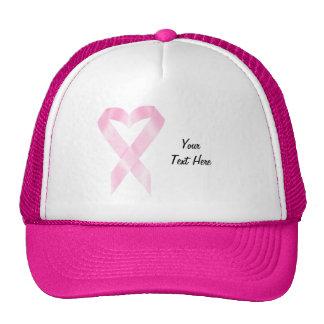 Fita de câncer de mama (customizável) boné