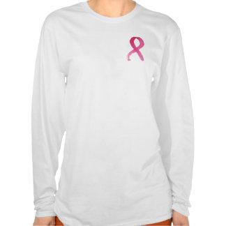 Fita de câncer de mama - t-shirt da imagem da