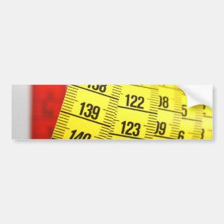 Fita de medição adesivo para carro
