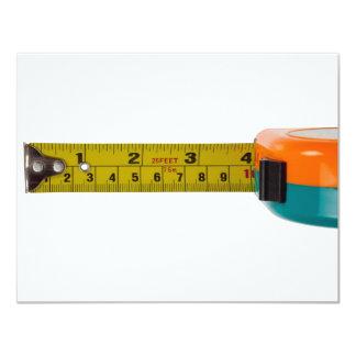 Fita de medição convite 10.79 x 13.97cm