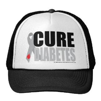 Fita do diabetes da cura boné