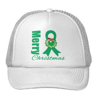 Fita do Feliz Natal da consciência do câncer de fi Bone