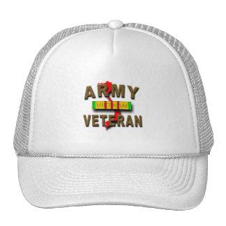 Fita do serviço do veterano de guerra do vietname, boné