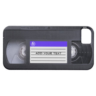 Fita retro do vintage 80s VHS do divertimento Capas Para iPhone 5
