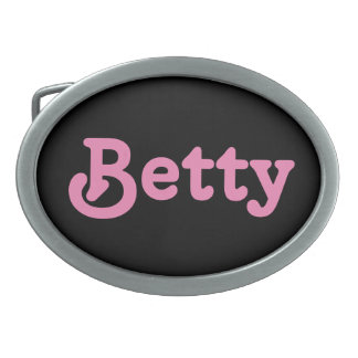 Fivela de cinto Betty