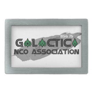 Fivela de cinto da associação do NCO