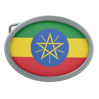 Fivela de cinto da bandeira de Etiópia