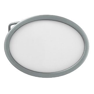 Fivela de Cinto Oval Personalizada