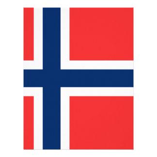 Flag_of_Norway Papel Timbrado