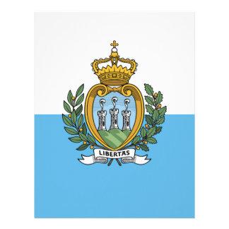 Flag_of_San_Marino Papel Timbrado