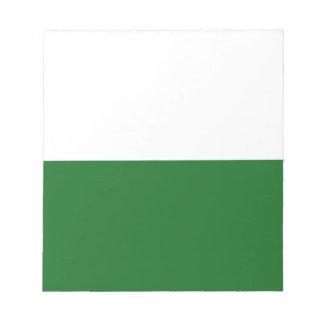 Flag_of_Saxony. Bloco De Notas