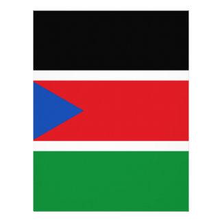 Flag_of_South_Sudan Papel Timbrado