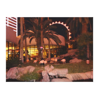 Flamingos, canvas de Las Vegas