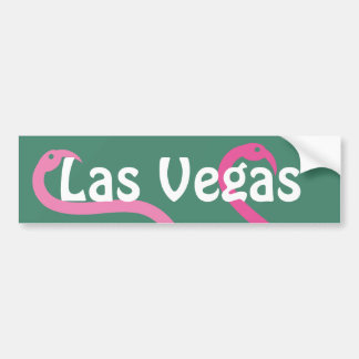 Flamingos cor-de-rosa de Las Vegas do divertimento Adesivo Para Carro