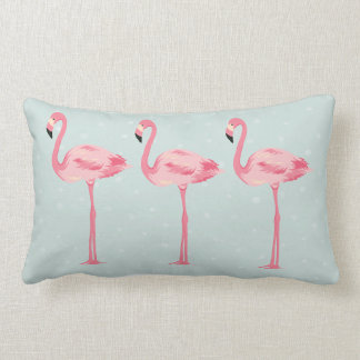 Flamingos fabulosos almofada lombar