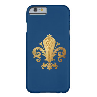 Fleur_de_lis Capa iPhone 6 Barely There