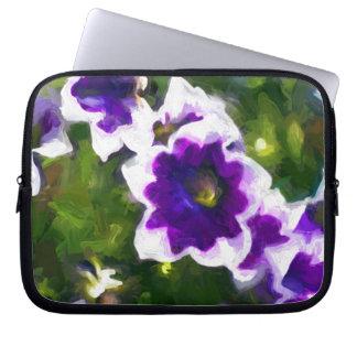 fleurs dos les capa para laptop