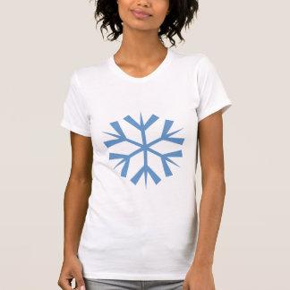 Floco da neve camisetas