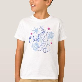 Flocos de neve de Olaf | Camiseta