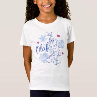 Flocos de neve de Olaf | Tshirt