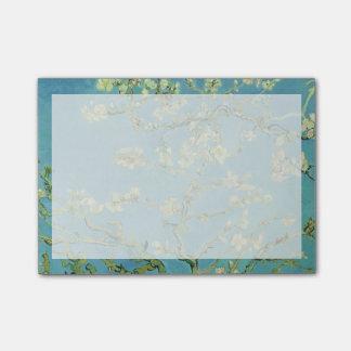 Flor | 1890 da amêndoa de Van Gogh | Bloquinho De Nota